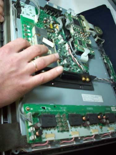 Системная плата телевизора Sharp LC-20S1E.