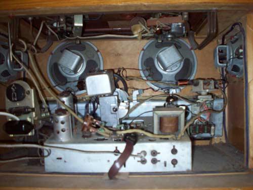 Внутрення схема радиоприемника